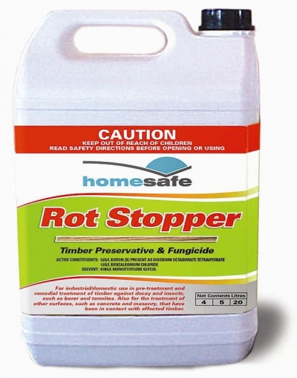 Rot Stopper - To Stop The Rot